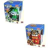 Robocar Helli + Robocar Roy (2 Transformable Robot toys) Helly Roi