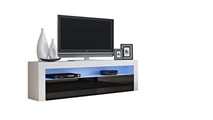 Amazon Com Tv Console Milano Classic White Tv Stand Up To 70 Inch