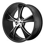 "American Racing VN805 Blvd Satin Black Wheel with Machined Accents (20x10""/5x115mm, +15mm offset)"