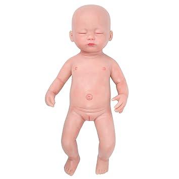 Amazon.com: IVITA Muñeca de bebé recién nacido, cuerpo ...