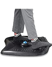 FENGE Standing Mat Anti-Fatigue Comfort Floor Stand Mat 3D Design with Foot Massage Ball & Dots Great for Home Office Working Study Use DM720001RB