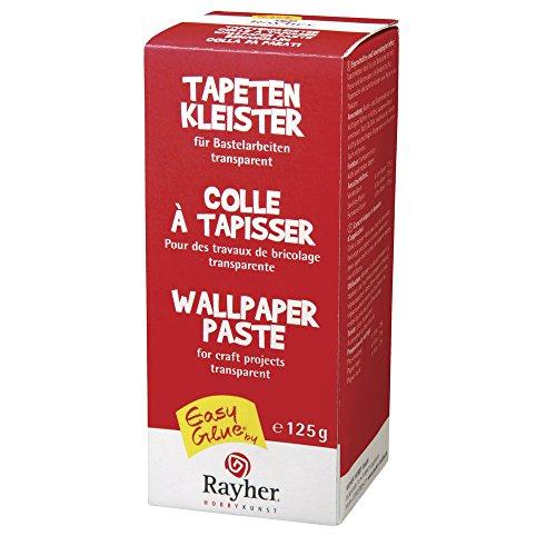 RAYHER 30143000 Tapetenkleister für Bastelarbeiten, Karton 125 g