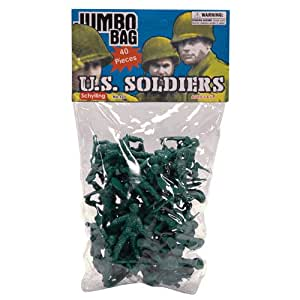 Green Army Men - 40 Piece Bag