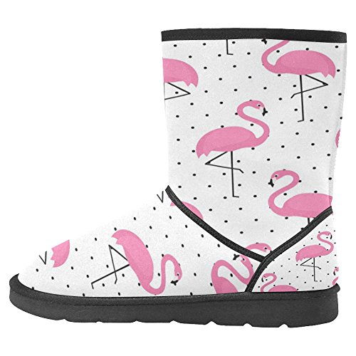 Scarponi Da Neve Womens Interestprint Stivali Invernali Unici Dal Design Esclusivo Multi 24