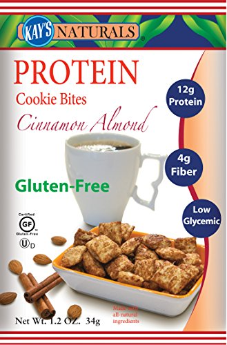 Kay's Naturals Protein Cookie Bites, Cinnamon Almond Filled,