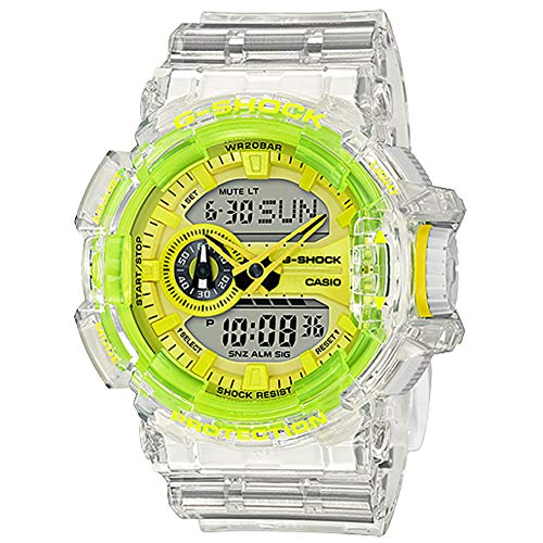 G-Shock GA400SK-1A9 Watch - Clear/Yellow