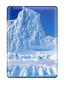 New Diy Design Glacier Earth For Ipad Air Cases Comfortable For Lovers And Friends For Christmas Gifts