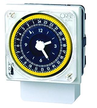 Orbis Alpha D 230 V Interruptor horario analógico Universal, OB270023: Amazon.es: Bricolaje y herramientas