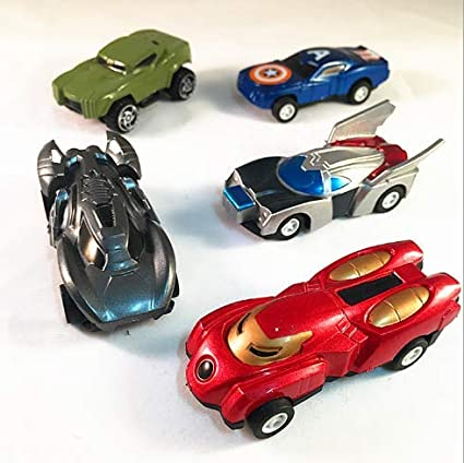 Amazon Com Xdobo Avenger Toy Cars Kids Toy Children S Toy Car Pull