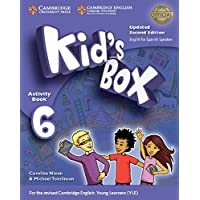 Kid's Box Level 6 Activity Book with CD ROM and My Home Booklet Updated English for Spanish Speakers