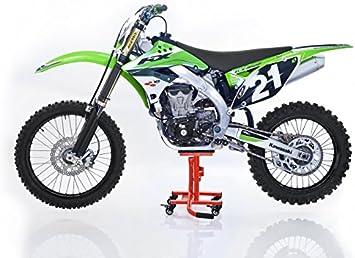 Constands Mx Ständer Mover Rangierhilfe Für Motocross Supermoto Enduro Trial Orange Auto
