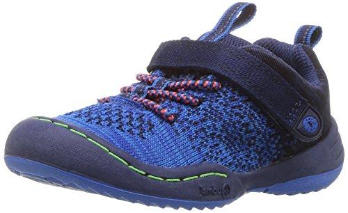 (JambuKD Talon Toddler Boy's Outdoor Sneaker, Navy, 8 M US)