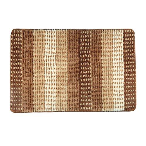 Bed 35' Khaki - Hihome Doormats Door Rugs Non-Slip Outdoor Door Mats Inside Entrance Rugs 23.6-Inch By 35-Inch (Khaki Gradient)