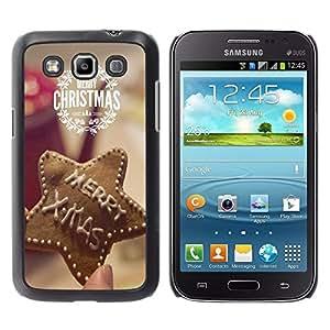 Dragon Case - FOR Samsung Galaxy Win I8550 - Merry Christams - Caja protectora de pl??stico duro de la cubierta Dise?¡Ào Slim Fit