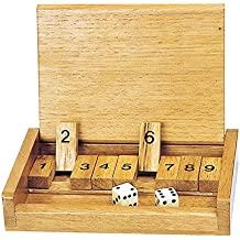 Dice Shut The Box Game