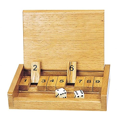 Dice Shut The Box Game (Box Rules Game The Dice Shut)