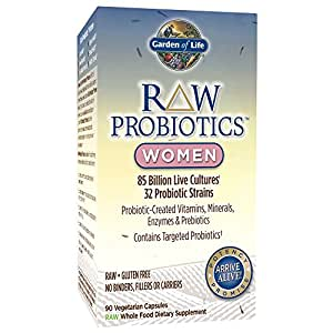 Garden Of Life Raw Probiotics Women Acidophilus And Bifidobacteria Live Cultures