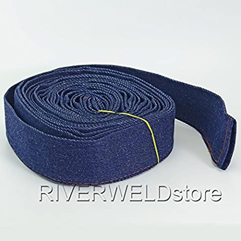 Power Cable Cover Cowboy Jacket 25 Feet (7.5 Meter) for TIG Welding & Plasma Cutter Torch