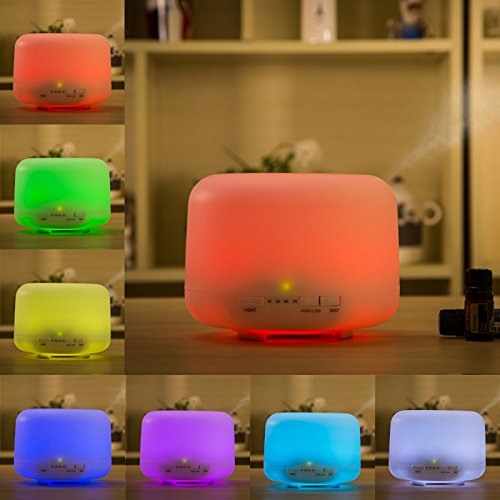 Actpe Aromatherapy Essential Ultrasonic Humidifier product image