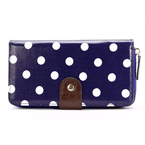 Blue Oilcloth Bag - 7