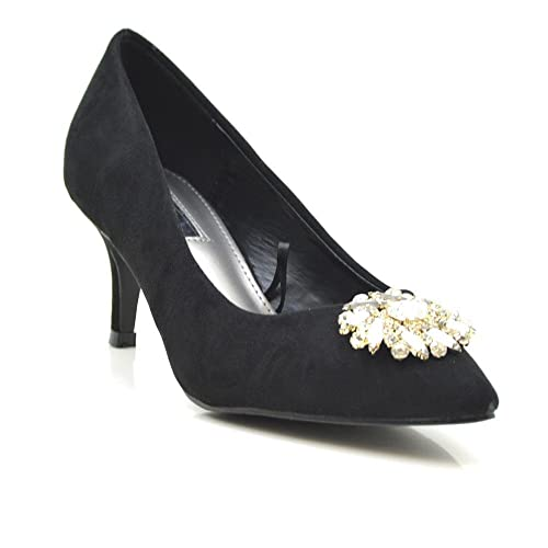 Tino Gonzalez Zapatos Mujer Lace Mujer Negro 40  Amazon.es  Zapatos y  complementos 8405319115a