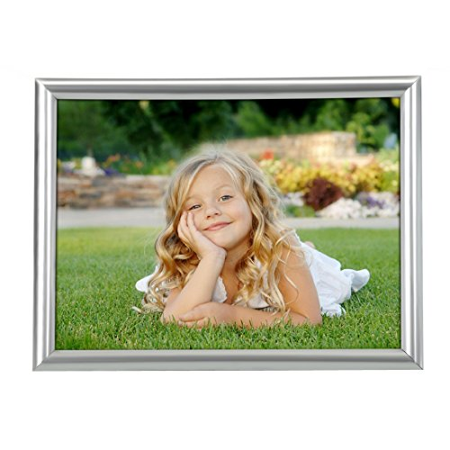 8 by 6 picture frame silver - 2
