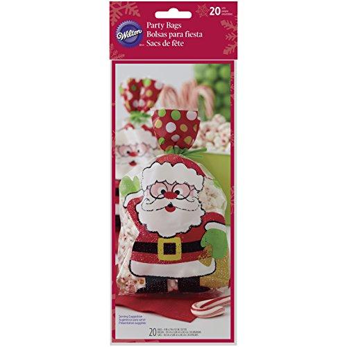 Wilton Santa Claus Treat Bags, - Santa Treat Bags