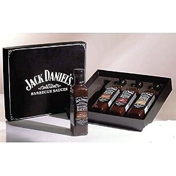 Jack Daniels Geschenkbox 4 Flaschen von Salsa Grill s