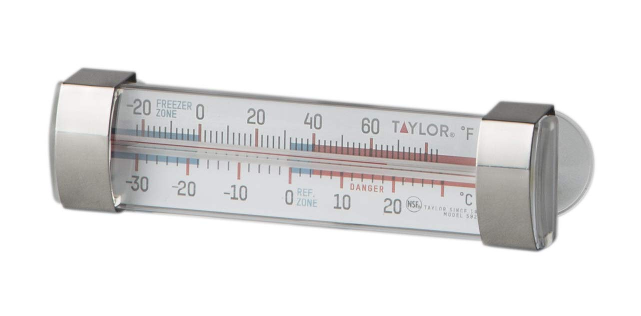 Taylor Precision Products 5925N Classic Design Freezer/Refrigerator Utility Thermometer