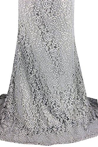 Charmingbridal Nouveau Bal Formelle Robe De Soirée En Dentelle Gris Clair Bustier Partie Gris Clair Ld043