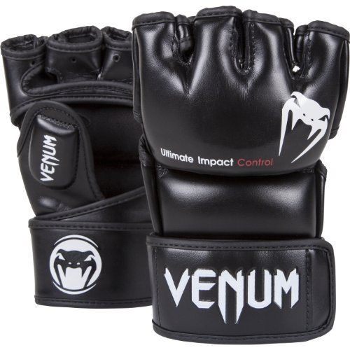 Venum Impact MMA Gloves Black Medium