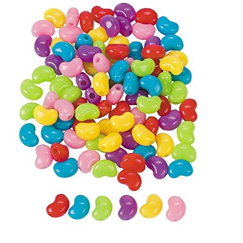 jelly bean beads