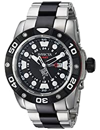 Invicta Men's 'Sea Base' Quartz Stainless Steel Casual Watch, Color:Two Tone (Model: 20186)