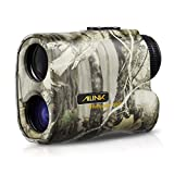 Hunting Rangefinder 6x Laser Monocular 540 Yards Range and Speed Scan, Yard/Meter Unit Shift, Eye-safe, Built-in LCD, Two Button Easy Operation for Hunting Archery Bow, AILINK Wild Hunter 500 Upgraded