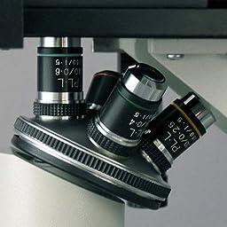 AmScope IN200B-9M Inverted Tissue Culture Microscope 40X-800X + 9M Camera