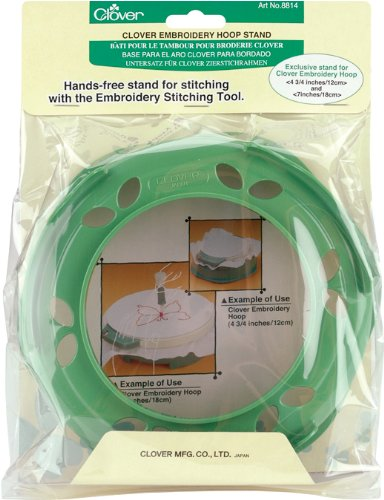 Clover Embroidery Hoop Stand -