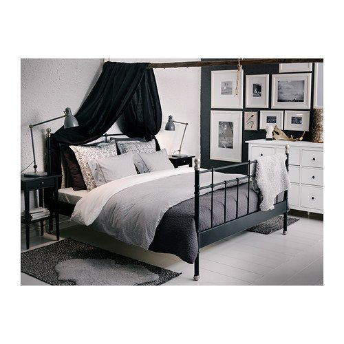 ikea nyponros duvet cover and pillowcases full queen gray buy online in uae kitchen. Black Bedroom Furniture Sets. Home Design Ideas