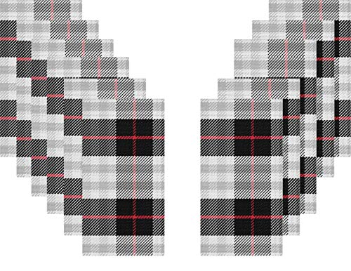 Christmas Holiday Winter Black and Red Plaid Disposable Guest Towels - 2 Pack - 32 Total (Direct Christmas Paper)