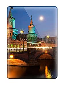 Christmas Gifts Tpu Case Cover For Ipad Air Strong Protect Case - Sunset In Berlin Design