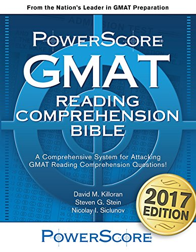 The PowerScore GMAT Reading Comprehension Bible (The PowerScore GMAT Bible Series Book 3) (English Edition)