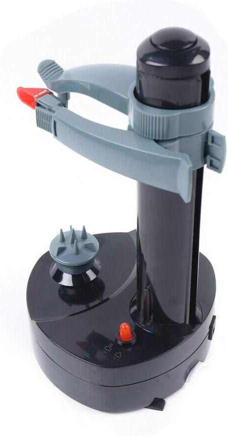 Electric Peeler Rapid Peeler, Potato Peeler Electric Auto Rotating Apple Vegetable Fruit Peeler Stainless Steel Kitchen Peeling Tool