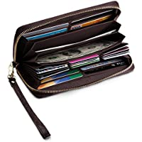 UMODE Accordion Wallet RFID Large Capacity Card Holder Clutch Organizer for Women