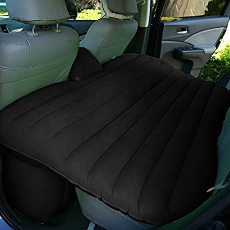 Back To 20s Heavy Duty Car Travel Inflatable Mattress Bed SUV Seat Extended
