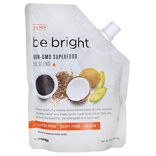 Coromega Be Bright Superfood Oil Blend, Nutrition Boost, Coconut Chia, 10.6 Ounce (Super Prenatal Nutrition)
