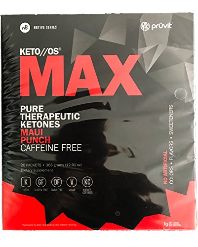Pruvit Therapeutic Ketones Packets Caffeine product image