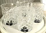 Ralph Lauren Aston Double Old Fashioned Glasses Set of Four (4) by RALPH LAUREN