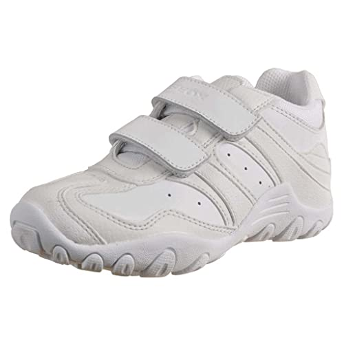 Geox Junior Crush J7328M05043C9999 - Zapatillas, Niño, Blanco (White), 41