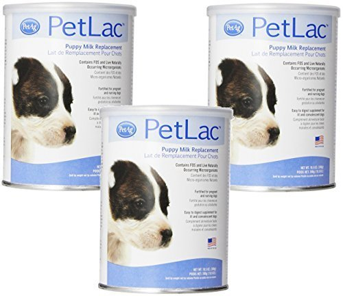 (PetLac Milk Powder for Puppies, 10.5-Ounce Each (3 Pack))