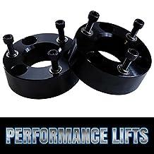 Prime Choice Auto Parts LK2427L25AB Front Leveling Lift Kit Spacer 2.5 Inch Aluminum Black