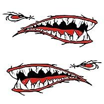 Pegatinas de dientes de Tiburón 1